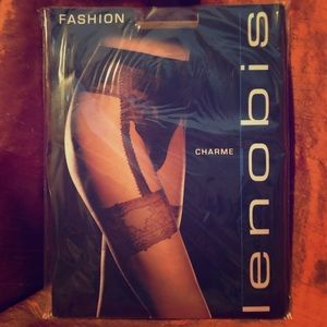 Lenobis Accessories - LENOBIS Charme Pantyhose Made in Italy NWT Large